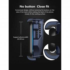 MEMO Smartphone Cooling Fan Kipas Pendingin Radiator Heat Sink USB Type C - DL02 - Blue - 7