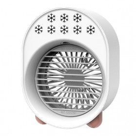OLOEY Kipas Cooler Pendingin Ruangan Mini Air Conditioner AC Arctic - A208 - White