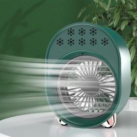 OLOEY Kipas Cooler Pendingin Ruangan Mini Air Conditioner AC Arctic - A208 - Green