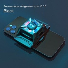 Willkey Smartphone Cooling Fan Kipas Pendingin Radiator Heat Sink USB Type C - F18 - Black