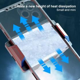 Willkey Smartphone Cooling Fan Kipas Pendingin Radiator Heat Sink USB Type C - F18 - Black - 4
