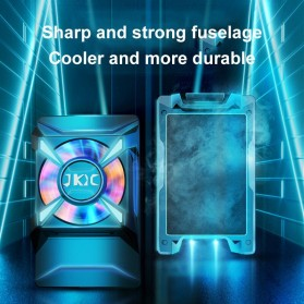 Willkey Smartphone Cooling Fan Kipas Pendingin Radiator Heat Sink USB Type C - F18 - Black - 5