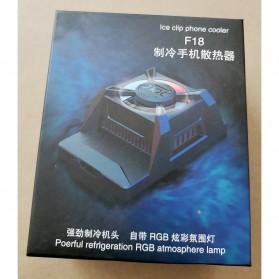 Willkey Smartphone Cooling Fan Kipas Pendingin Radiator Heat Sink USB Type C - F18 - Black - 10
