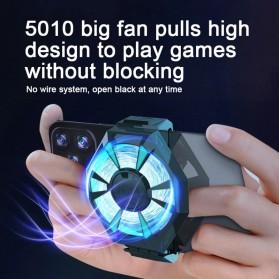 Willkey Smartphone Cooling Fan Kipas Pendingin Radiator Heat Sink Rechargeable - F21 - Black