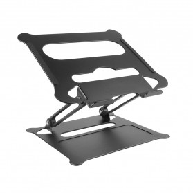 OUTMIX Laptop Stand Aluminium Foldable Adjustable Non-Slip  - OTM90 - Black