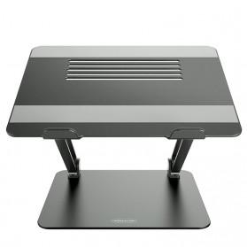 NILLKIN Laptop Stand Aluminium Foldable Adjustable Non-Slip  - NL4270 - Gray
