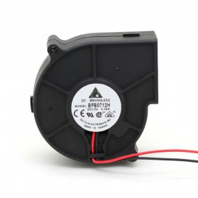 Delta Kipas Pendingin Sentrifugal Blower Cooling Fan 2900RPM - BFB0712H - Black
