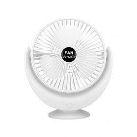 FGHGF Kipas Angin Tabletop Mini Fan USB Portable - FGH102 - White