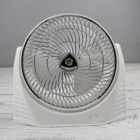 LISM Kipas Angin Tabletop Mini Fan USB 2000mAh - LSM103 - White