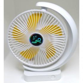 HNGCHOIGE Kipas Angin USB Meja Mini Fan Portable - F138 - White