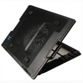 NAJU Notebook Cooler Pad Laptop Ultra Thin Radiator Cooling Base - NB339 - Black