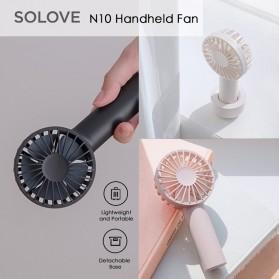 SOLOVE Kipas Angin Genggam Handheld Mini Fan USB 4500mAh - N10 - Pink