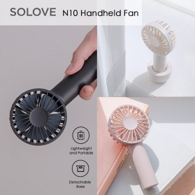 SOLOVE Kipas Angin Genggam Handheld Mini Fan USB 4500mAh - N10 - White