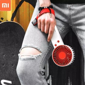 BCase Kipas Angin Genggam Portable Handheld Mini Fan USB Handheld Gaming - DSHJ-B-1907 - White