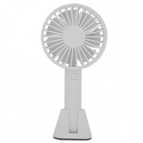 Xiaomi Mijia VH Kipas Angin Handheld Base Portable Fan - Light Gray