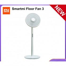 Xiaomi Smartmi Floor Fan 3 Kipas Angin Lantai Pintar DC Standing Wireless Rechargeable - ZLBPLDSO5ZM - White