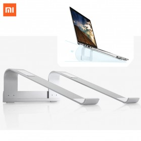 Meja Laptop / Notebook - Xiaomi iQunix L-Stand Laptop Holder Aluminium 15 Inch - Silver