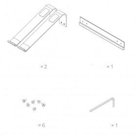 Xiaomi iQunix L-Stand Laptop Holder Aluminium 15 Inch - Silver - 10