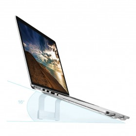 Xiaomi iQunix L-Stand Laptop Holder Aluminium 15 Inch - Silver - 8
