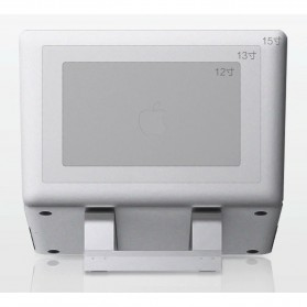 Xiaomi iQunix L-Stand Laptop Holder Aluminium 15 Inch - Silver - 9