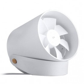 Xiaomi Mijia VH Kipas Angin USB Double Leaf Blade Silent Fan Touch Version - White