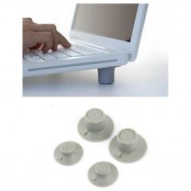 Stand Laptop Portable Pendingin 4 PCS - Gray