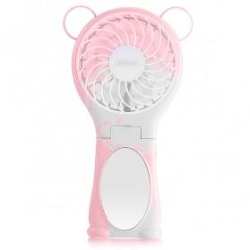 Remax Kipas Angin Portable dengan Cermin - F17 - Pink