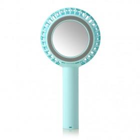 Remax Kipas Angin Portable Magnetic dengan Kaca Make Up - F22 - Blue - 2