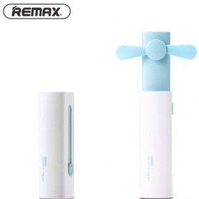 Remax Kipas Angin Mini Portable Multifungsi - F24 - Blue