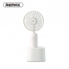 Remax Kipas Angin Oscillating Portable dengan Stand - RT-EM18 - White