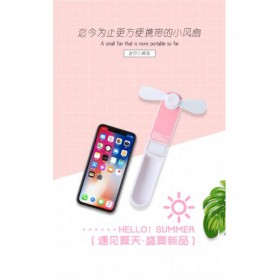 PRODA OGGPIE Series USB Mini Fan + Power Bank 2600mAh - PD-F02 - Pink - 3