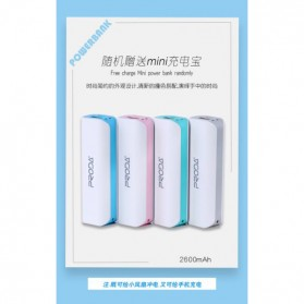 PRODA OGGPIE Series USB Mini Fan + Power Bank 2600mAh - PD-F02 - Pink - 4