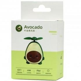 Proda Kipas Angin Mini Fan Avocado USB Rechargeable - PD-F03 - Yellow - 3
