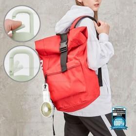 Remax Life Kipas Angin Mini Fan Handheld Portable USB Rechargeable - RL-FN33 - Pink - 3
