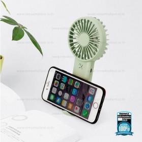 Remax Life Kipas Angin Mini Fan Handheld Portable USB Rechargeable - RL-FN33 - Pink - 4