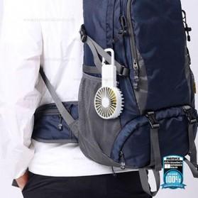 Remax Life Kipas Angin Mini Fan Handheld Portable USB Rechargeable - RL-FN33 - Pink - 6