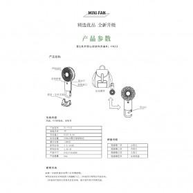 Remax Life Kipas Angin Mini Fan Handheld Portable USB Rechargeable - RL-FN33 - Pink - 8