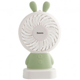Baseus Kipas Angin Mini CXRAB USB Rechargeable Fan Portable - CXRAB - Green