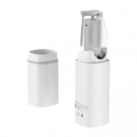 Baseus Kipas Angin USB Portable Mini Cooling Fan with Powerbank 2000mAh - CXZD-B02 - White - 2