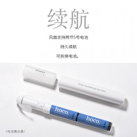HOCO F6 Kipas Angin Mini Portable Handheld - White - 3