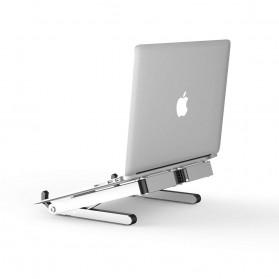 BUBM N1 Adjustable Foldable Laptop Stand Aluminium - DNZJ-02 (ORIGINAL) - Silver - 2