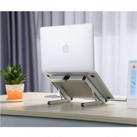 BUBM N1 Adjustable Foldable Laptop Stand Aluminium - DNZJ-02 (ORIGINAL) - Silver - 3