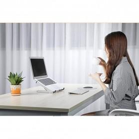 BUBM N1 Adjustable Foldable Laptop Stand Aluminium - DNZJ-02 (ORIGINAL) - Silver - 7