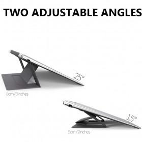 BUBM Laptop Stand Portable Adjustable - ZDZJ-A - Black - 2