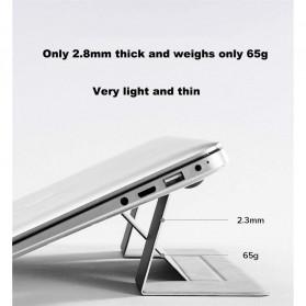 BUBM Laptop Stand Portable Adjustable - ZDZJ-A - Black - 4