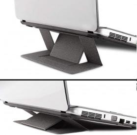 BUBM Laptop Stand Portable Adjustable - ZDZJ-A - Black - 5