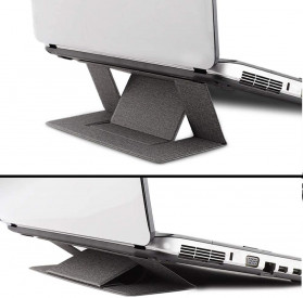 Meja Laptop / Notebook - BUBM Laptop Stand Portable Adjustable - ZDZJ-A - Dark Gray