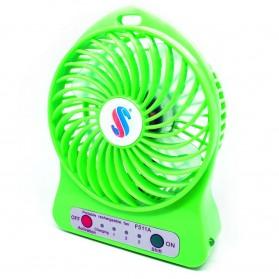USB Fan / Cooling Pad - Battery Cell Cooling Fan 18650 Battery - Green