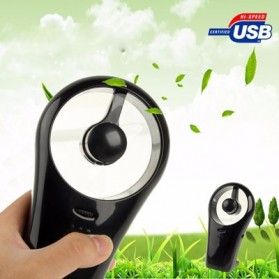 Ultra Quite Mini USB / Battery Cell Cooling Fan - HH-U517 - Black - 5