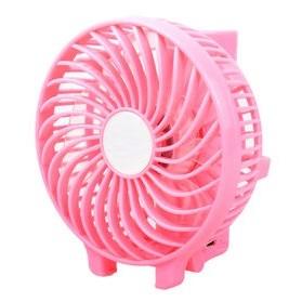 Kipas Portable Handheld Cooling Fan dengan Baterai 18650 - HF308 - Pink - 3